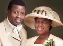 Pastor with his wife smilimg